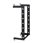 WholesaleCables.com 61R1-21221 V Line Fixed Wall Rack 21U