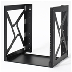 WholesaleCables.com 61R2-21212 Wall Mount Rack 12U
