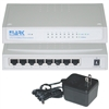 7002-22083 8 Port 10/100 Fast Ethernet Switch White