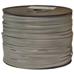 8608-1000F 1000ft Bulk Phone Cord Silver Satin 28/8 (28 AWG 8 Conductor) Spool