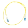 WholesaleCables.com LCLC-01201 1meter 3.3ft Fiber Optic Cable LC / LC Singlemode Duplex 9/125