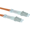 WholesaleCables.com LCLC-11010 10meter 33ft Fiber Optic Cable LC / LC Multimode Duplex 50/125