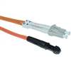 WholesaleCables.com LCMJ-11101 1meter 3.3ft Fiber Optic Cable LC / MTRJ Multimode Duplex 62.5/125