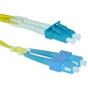 WholesaleCables.com LCSC-01230  30meter 98.4ft Fiber Optic Cable LC / SC Singlemode Duplex 9/125