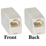 MC-8P8C-ST RJ45 8P8C (Straight) Telephone Inline Coupler