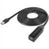 WholesaleCables.com UC-50500 3 meter (10 ft) USB 3.0 Super Speed Active Extension Cable USB Type A Male to Type A Female