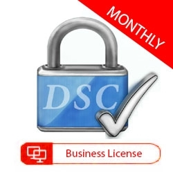 DSC Business Edition - License 1 Computer - Monthly