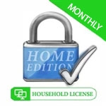 DSC Home Edition - Household License 5 Computers - Month-to-Month