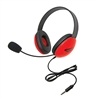 "2800-RDT Listening First Stereo Headset w/ ""To Go"" plug"