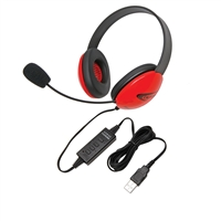 2800RD-USB Listening First Stereo Headset