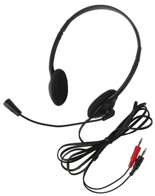 3065AV Lightweight Personal Multimedia Stereo Headset