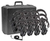 3068-12 Stereo Headphone 12 pack with case