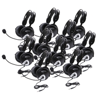 4100AVT-10L Tablet & Smartphone Headset Ten Pack
