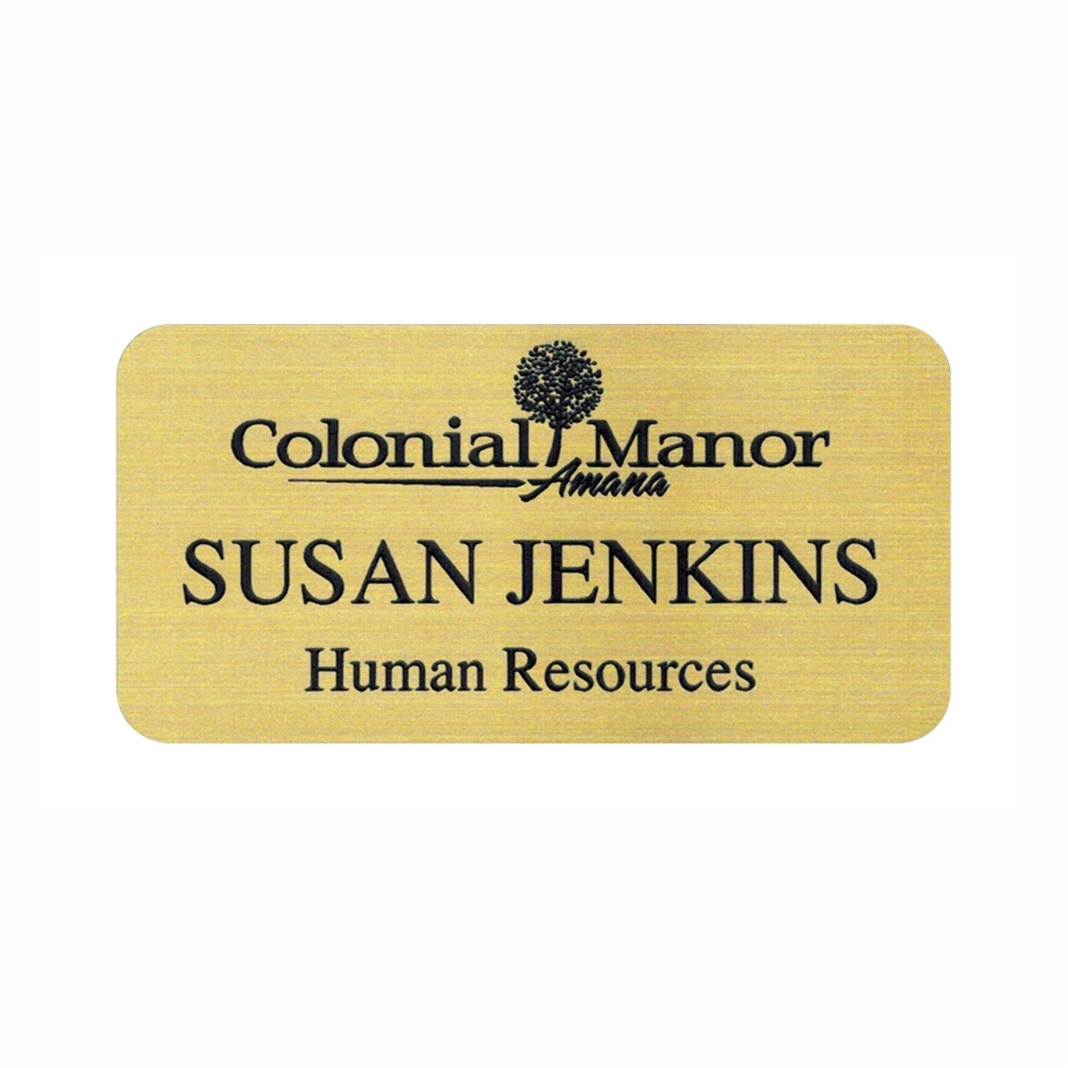 Custom Engraved Name Tag