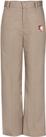 Capital Prep Harlem Ladies Khaki Pants