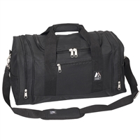 20 inch duffel bag black