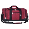 #020-BURGUNDY Wholesale 20-inch Duffel Bag - Case of 20 Duffel Bags