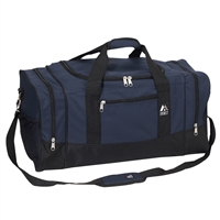 #020-NAVY Wholesale 20-inch Duffel Bag - Case of 20 Duffel Bags