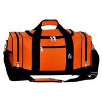 #020-ORANGE Wholesale 20-inch Duffel Bag - Case of 20 Duffel Bags