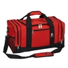 #020-RED Wholesale 20-inch Duffel Bag - Case of 20 Duffel Bags