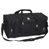 #025-BLACK Wholesale 25-inch Duffel Bag - Case of 20