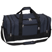 #025-NAVY Wholesale 25-inch Duffel Bag - Case of 20 Duffel Bags