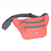 #044KD-CORAL Wholesale Waist Pack - Standard - Case of 50 Waist Packs