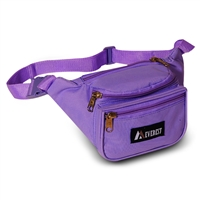 #044KD-DARK PURPLE Wholesale Waist Pack - Standard - Case of 50 Waist Packs