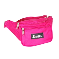 #044KD-HOT PINK Wholesale Waist Pack - Standard - Case of 50 Waist Packs