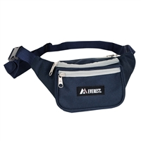 #044KD-NAVY/GRAY Wholesale Waist Pack - Standard - Case of 50 Waist Packs