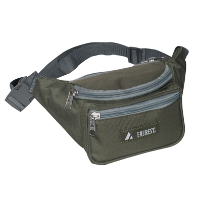 #044KD-OLIVE Wholesale Waist Pack - Standard - Case of 50 Waist Packs