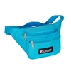 #044KD-TURQUOISE Wholesale Waist Pack - Standard - Case of 50 Waist Packs