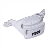 #044KD-WHITE Wholesale Waist Pack - Standard - Case of 50 Waist Packs