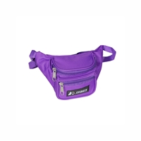 #044KS-DARK PURPLE Wholesale Waist Pack - Junior - Case of 100 Waist Packs