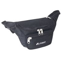 #044MD-BLACK Wholesale Waist Pack - Medium - Case of 50 Waist Packs