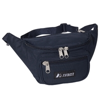 #044MD-NAVY Wholesale Waist Pack - Medium - Case of 50 Waist Packs