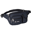 #044MDH-NAVY Wholesale Multiple Pocket Waist Pack - Case of 50 Waist Packs
