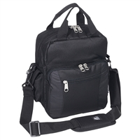 #067-BLACK Wholesale Deluxe Utility Bag - Case of 30