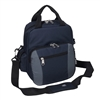 #067-NAVY/CHARCOAL Wholesale Deluxe Utility Bag - Case of 30