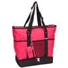 #1002DLX-HOT PINK Wholesale Deluxe Sporting Tote Bag - Case of 30 Tote Bags