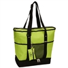 #1002DLX-LIME Wholesale Deluxe Sporting Tote Bag - Case of 30 Tote Bags