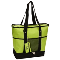 #1002DLX-LIME Wholesale Deluxe Sporting Tote - Case of 30