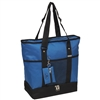 #1002DLX-ROYAL BLUE Wholesale Deluxe Sporting Tote - Case of 30