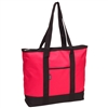 #1002DS-HOT PINK Wholesale Shopping Tote - Case of 40