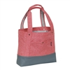#1002TB-CORAL/GRAY Wholesale Stylish Tablet Tote Bag - Case of 30 Tote Bags