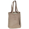 #1002TBLT-TAN Wholesale Laptop & Tablet Tote Bag - Case of 20 Tote Bags