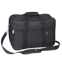 #1004D-BLACK Wholesale Carry-On Briefcase - Case of 30 Briefcases