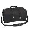 #1008D-BLACK Wholesale 19-inch Duffel Bag - Case of 30 Duffel Bags