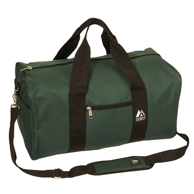 #1008D-GREEN Wholesale 19-inch Duffel Bag - Case of 30
