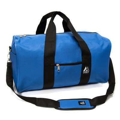 #1008D-ROYAL BLUE Wholesale 19-inch Duffel Bag - Case of 30 Duffel Bags